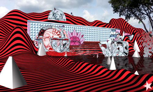 how & nosm mural