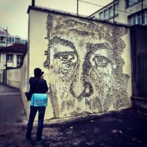 Vhils - Street Art Avenue - Paris 13