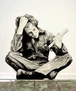 Levalet expose à la Nunc Gallery de Grenoble - La Sottise