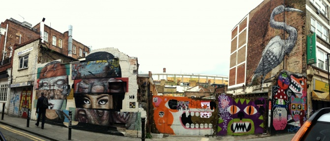 Street Art - Hanbury Street - Londres