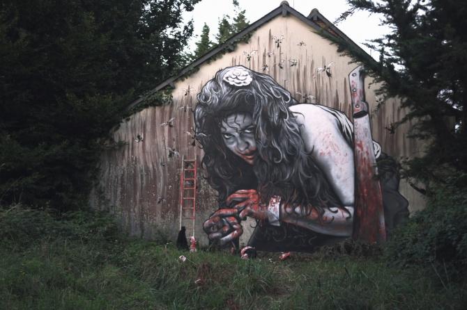 """""""Death becomes here"""" - Gwen VILAINE par MTO, Rennes 2012"""