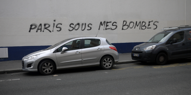 """Paris sous mes bombes"" - Tagtical Media-2 ©MTO"