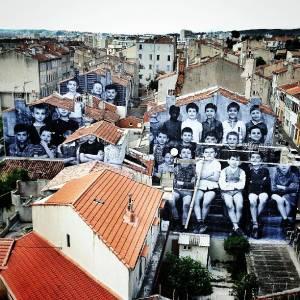 Belle de Mai - Marseille // JR