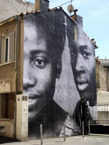 JR - Berthe Dialo, Belle de Mai // Marseille