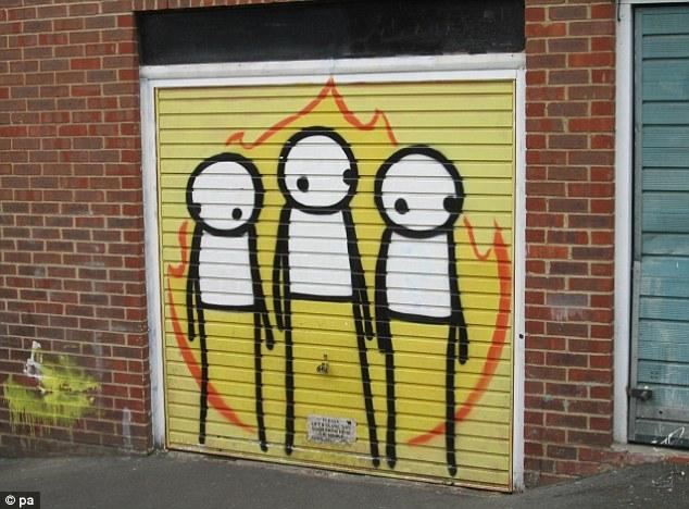 London Riots de Stik