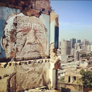 Vhils à Rio de Janeiro - octobre 2012