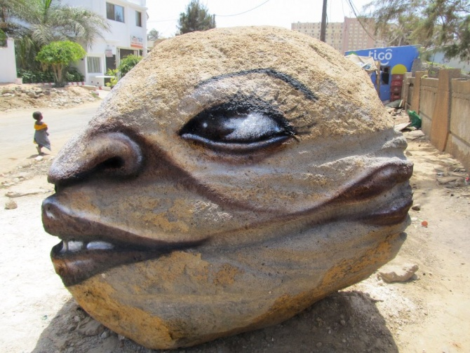Andre Muniz Gonzaga - dalata - dakar - street art