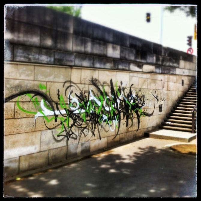 a1one - alone - street art - paris