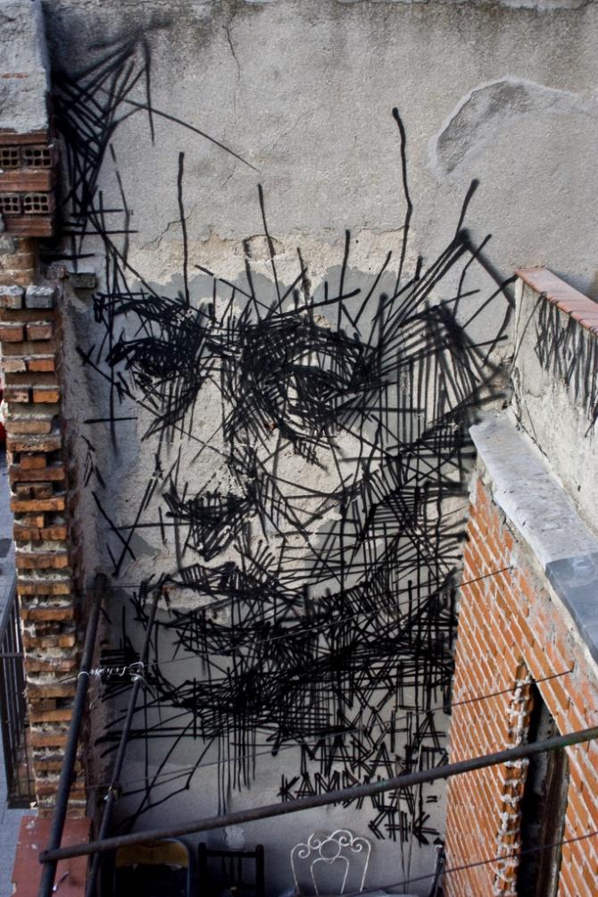 Arte urbano Madrid / Flickr