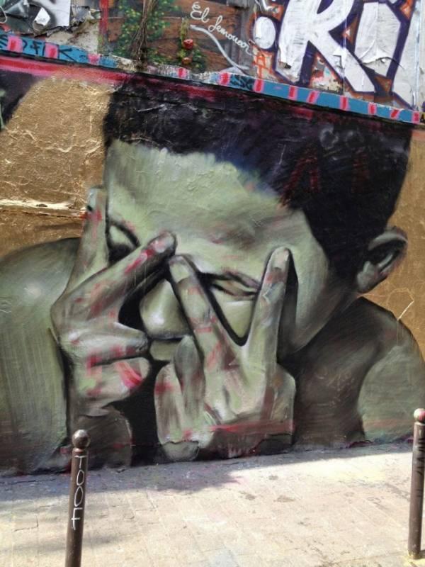 mesa - street art - paris - denoyez