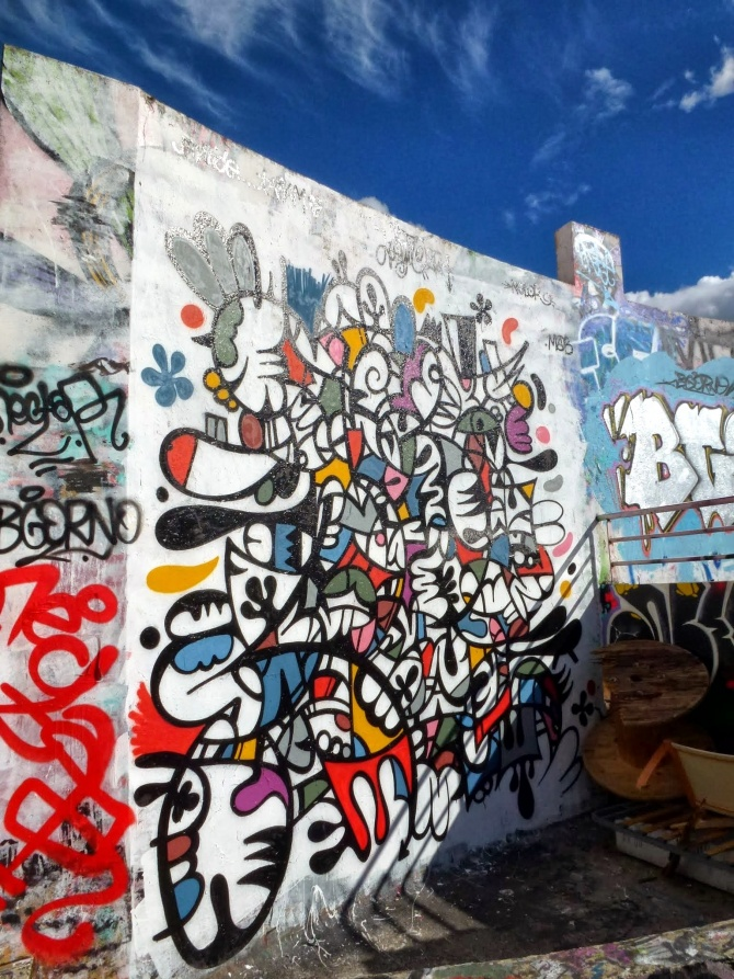 L'art de Leyto sur les murs de Rennes