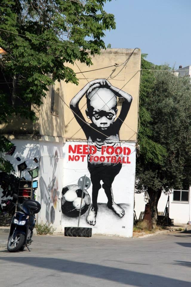 Street Activisme par Go1n, Athènes