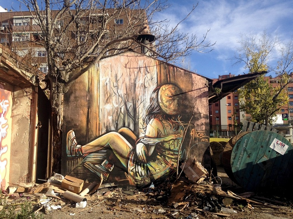 Alice Pasquini, Madrid