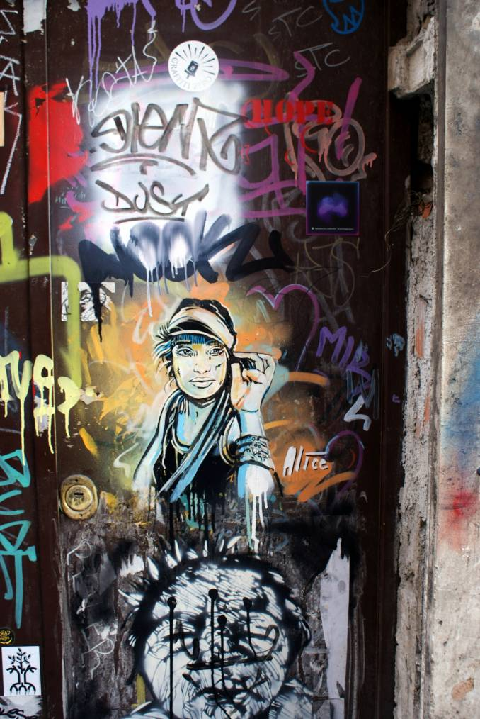 Alice Pasquini, Rome