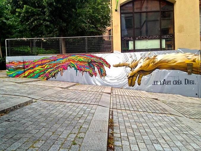 BRUSK /// ..et l'Art créa Dieu, Lyon