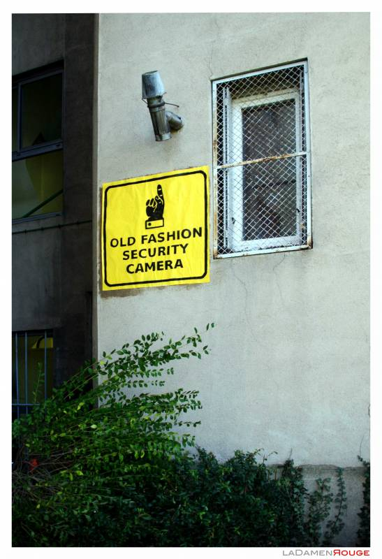 Old Fashion Security Camera 2
