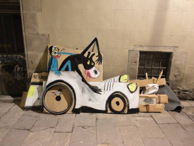 street artiste francisco de pajaro