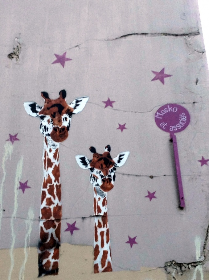 mosko et associ u00e9s        une histoire de girafes  paris