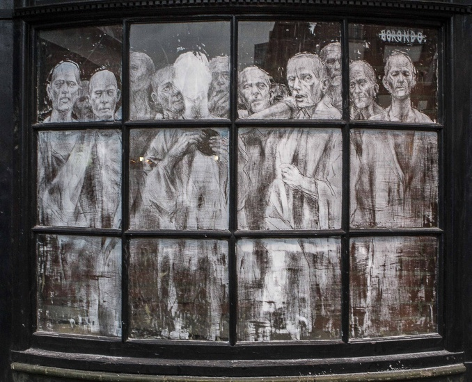 Londres, Shoreditch // photo 2014 © Fabiano Caputo
