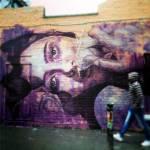 RONE /// Nouveau mur sur Brick Lane, Londres