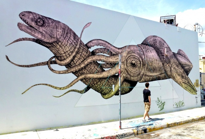 Alexis Diaz // Art Basel 2013 Wynwood, Miami