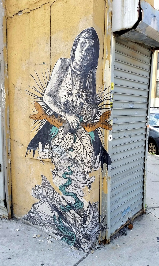 Swoon, Bushwick Brooklyn // photo juillet 2014 @vidos - street-art-avenue