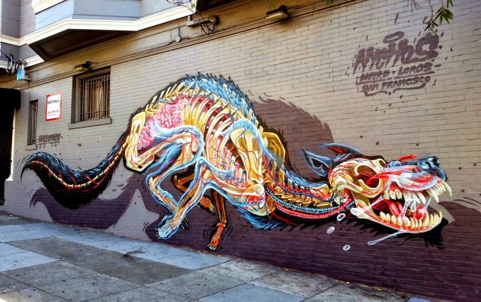 Nychos, San Francisco // photo 2014 @ vidos - street-art-avenue