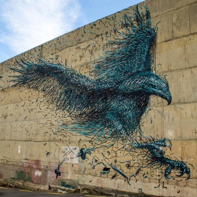 DALeast /// Defolation, Dunedin Street Art Festival   678 x 678 jpeg 213kB
