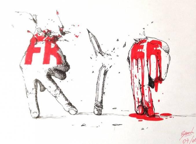 R.I.P.  BRUSK Charlie Hebdo