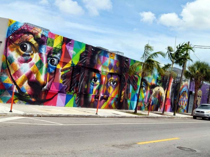 Eduardo Kobra - Miami //photo @vidos - mai 2014 - street-art-avenue