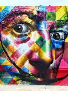 Salvador Dali - Eduardo Kobra, Miami// photo @vidos - mai 2014 - street-art-avenue