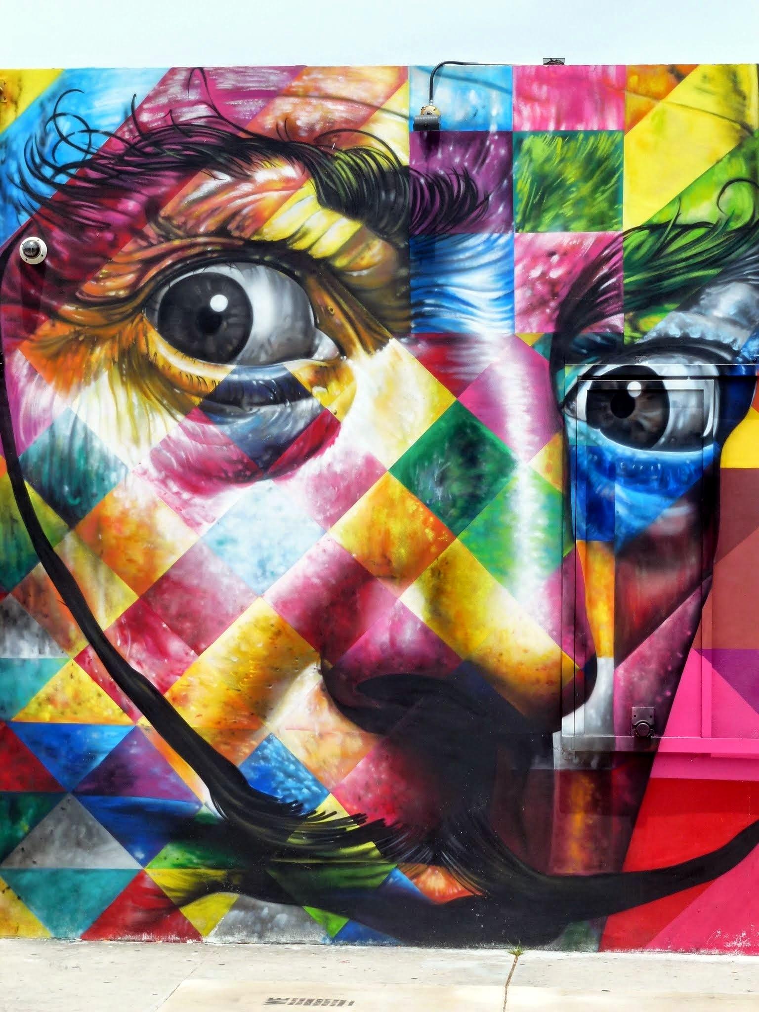 Eduardo Kobra /// Art Basel 2013, Wynwood Miami