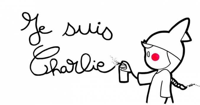 Zoulette Street Art - Je Suis Charlie