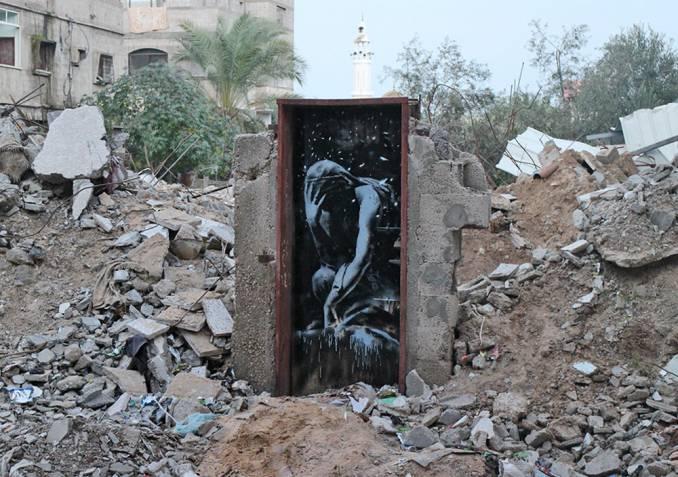 Banksy /// Gaza 2015