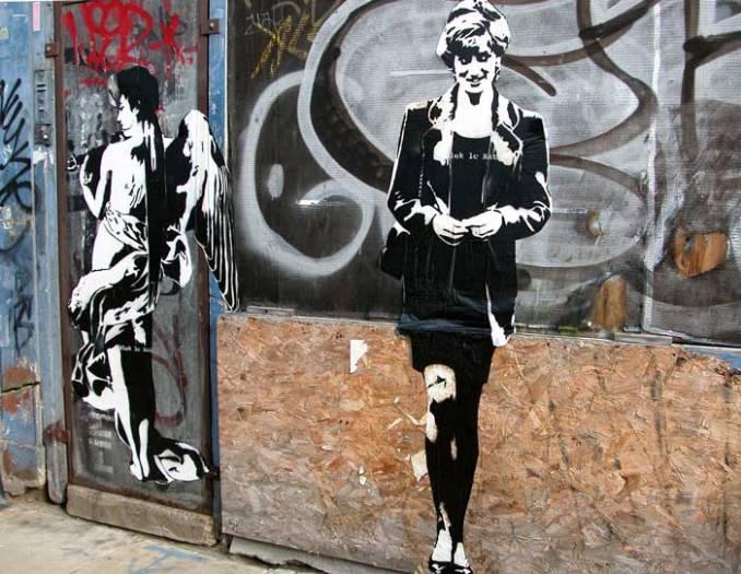 Blek Le Rat // Angel Diana - Londres