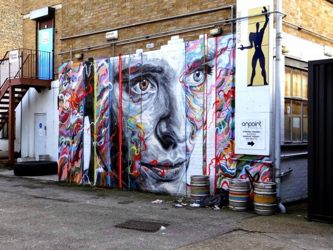 David Walker x Jim Vision, Shoredicth London 2014