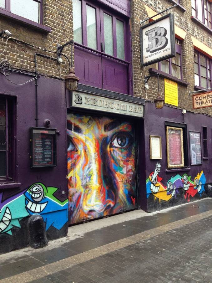 David Walker & PEZ, Shoreditch (Londres)
