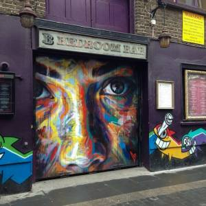 David Walker, Shoreditch Londres 2014