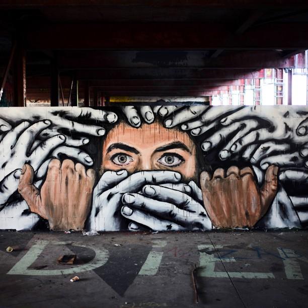 Zabou x Alaniz /// «Silenced» – Teufelsberg, Berlin