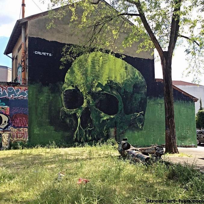 Fred Calmets, Lyon // crédit photo : Street-Art-Lyon