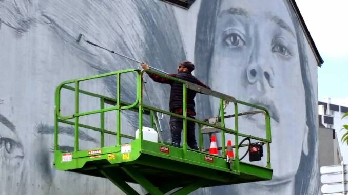RONE, Vannes (FR) // photo @vidos - street-art-avenue