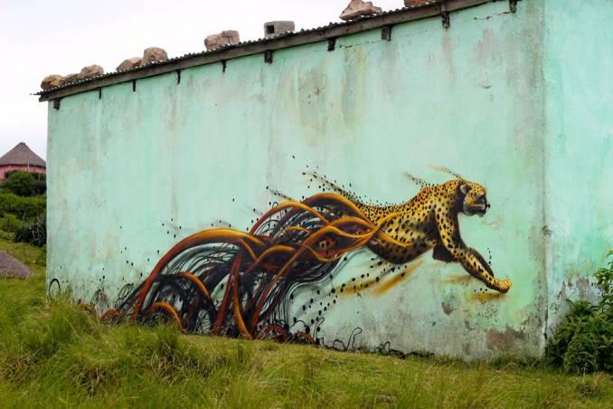 """""""Transkei Cheetah"""" 2015 © Tessa Cunliffe"""