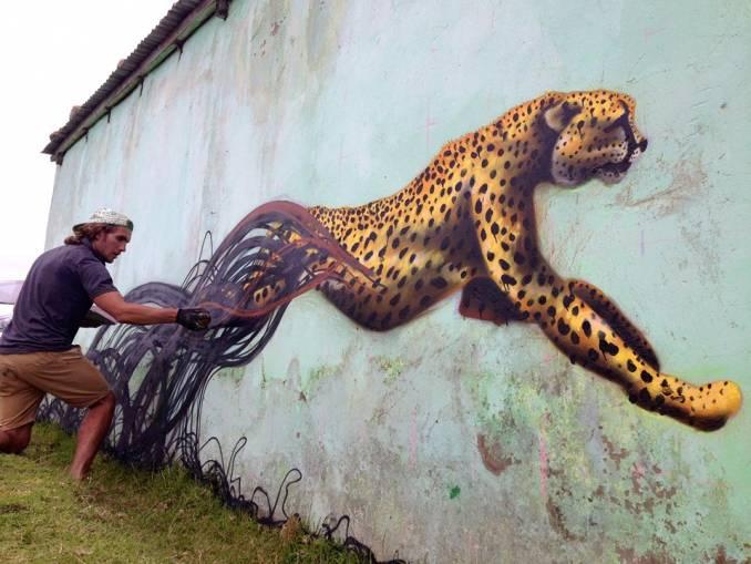 "Sonny ""Transkei Cheetah"" 2015 © Tessa Cunliffe"