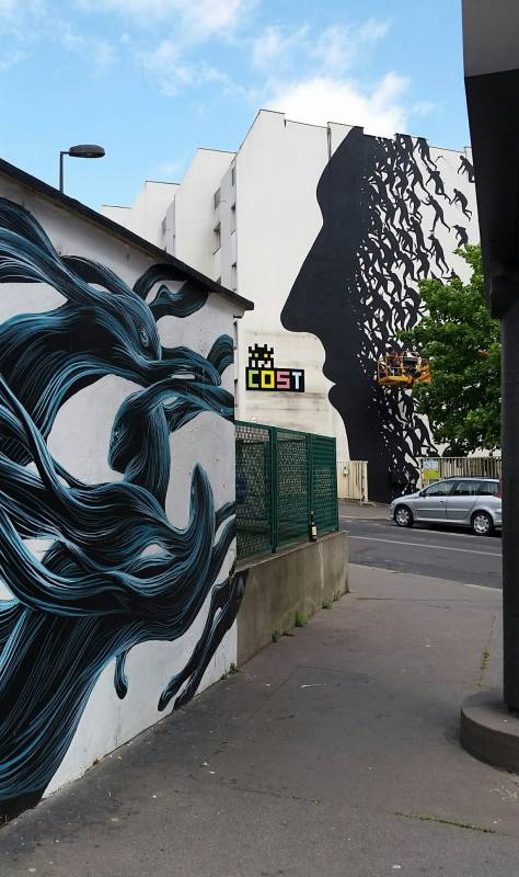David de la Mano, Paris 13 // photo juin 2015 @vidos - street-art-avenue
