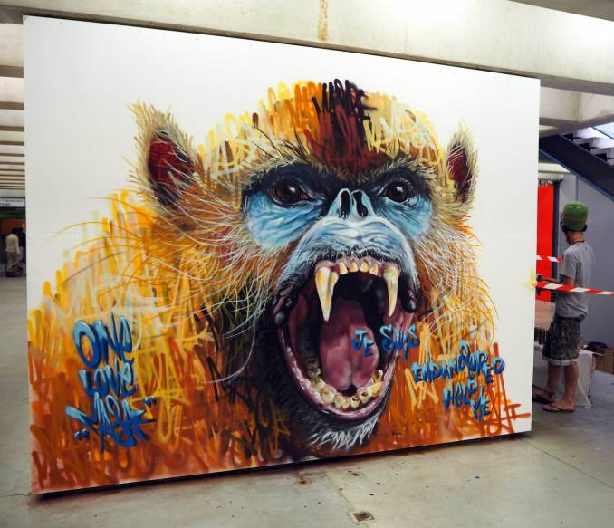 "Louis ""Masai"" Michel, Quai36 - Gare du Nord Paris // photo juin 2015 @vidos - street-art-avenue"