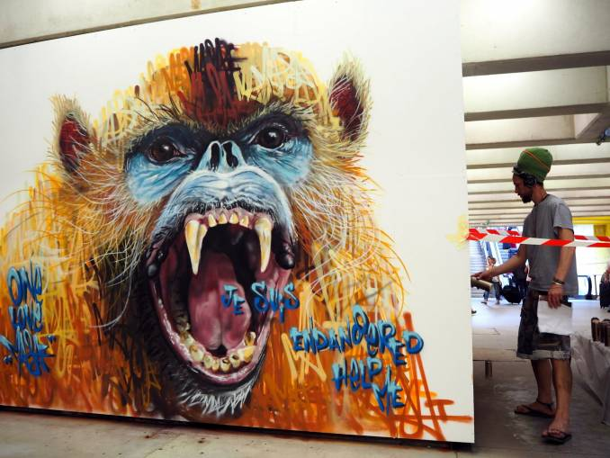 "Louis ""Masai"" Michel, Quai36 - Gare du Nord Paris // photo juin 2015 @vidos - street-art-avenue"