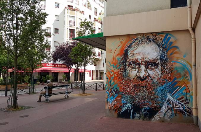 C215 - Paris 13 // photo juillet 2015 @ vidos - street-art-avenue