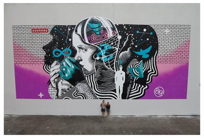© Dourone // Kosmopolite Art Tour Louvain-la-Neuve 2015