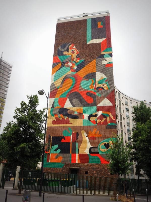 REKA /// Street Art 13, Paris