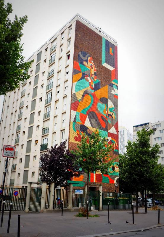 REKA - Paris 13 // photo juillet 2015 @ vidos - street-art-avenue